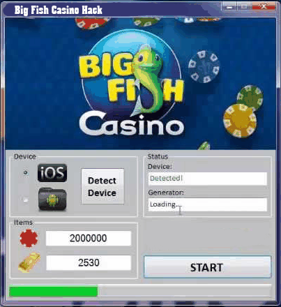 Big fish casino website