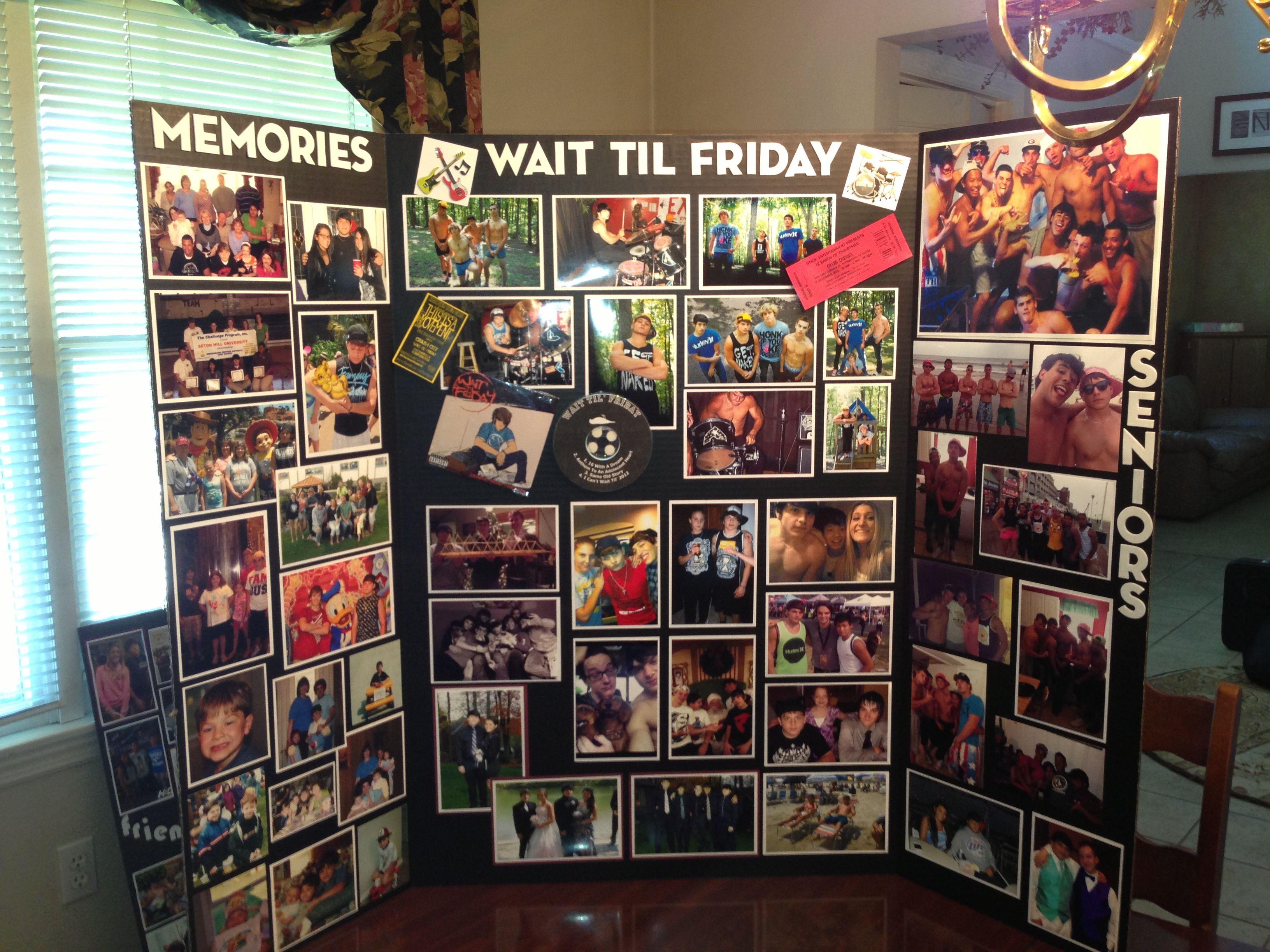 Do You Have A High School Senior Graduation Photos Photo Boards And Tri Fold