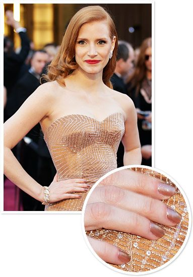 Celebrity Manicures 2013: Jessica Chastain