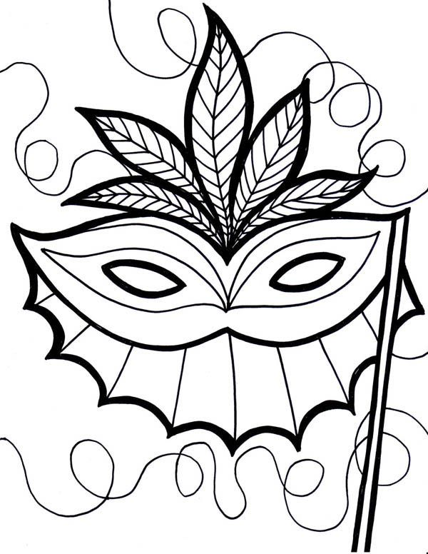 find this pin and more on icolor masks free mardi gras coloring sheet