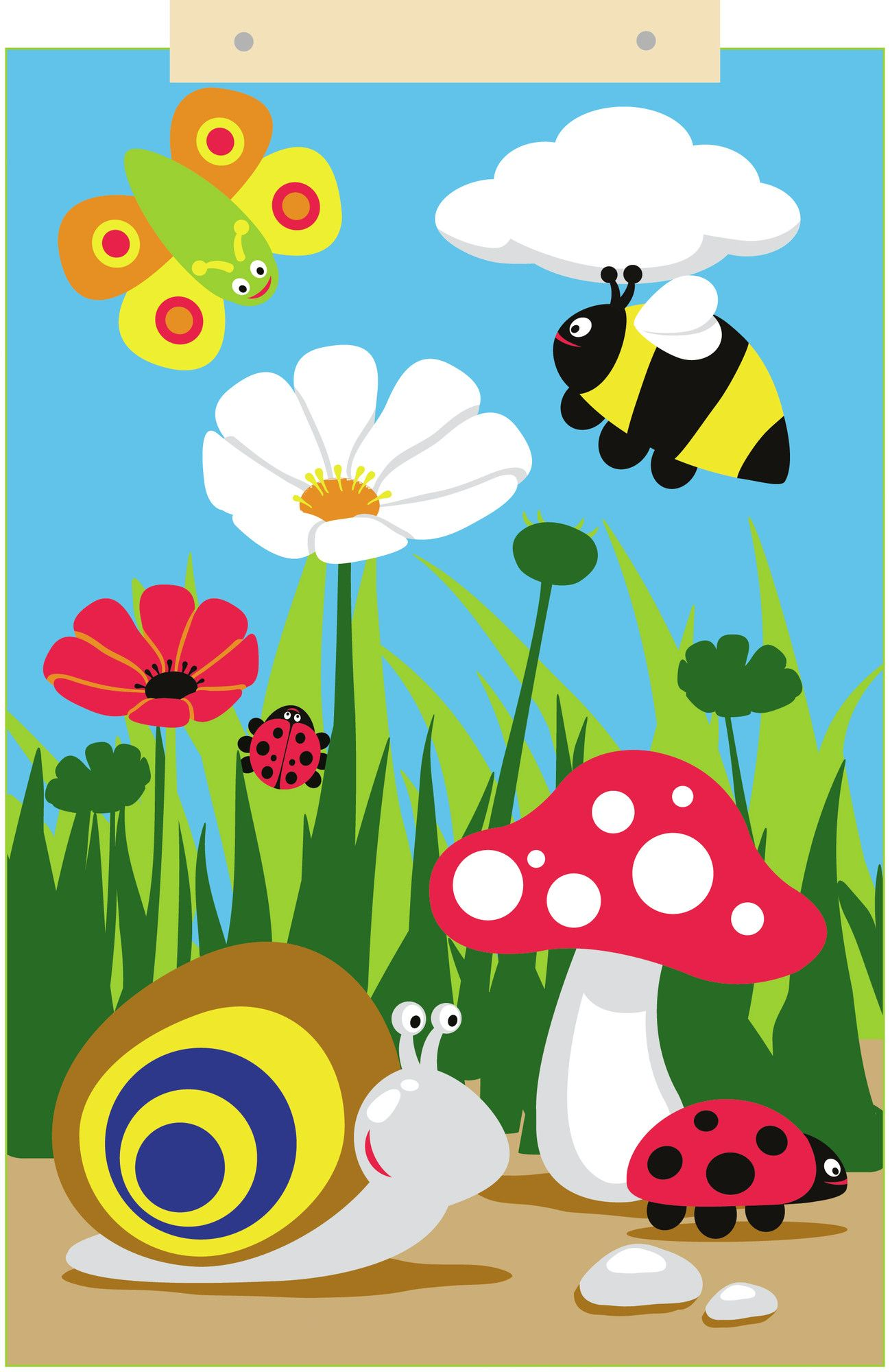 Clipart Decoration Classroom ~ Back to nature wall decor pre school environment and