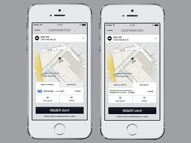 Uber and Amex Partner on InApp Loyalty Program Loyalty
