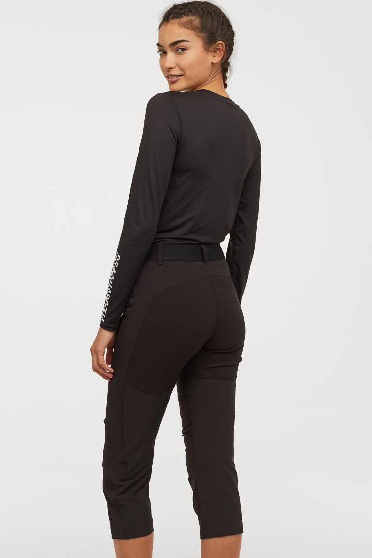 Outdoor Pantolonu Pantolon Kadin Ve Siyah