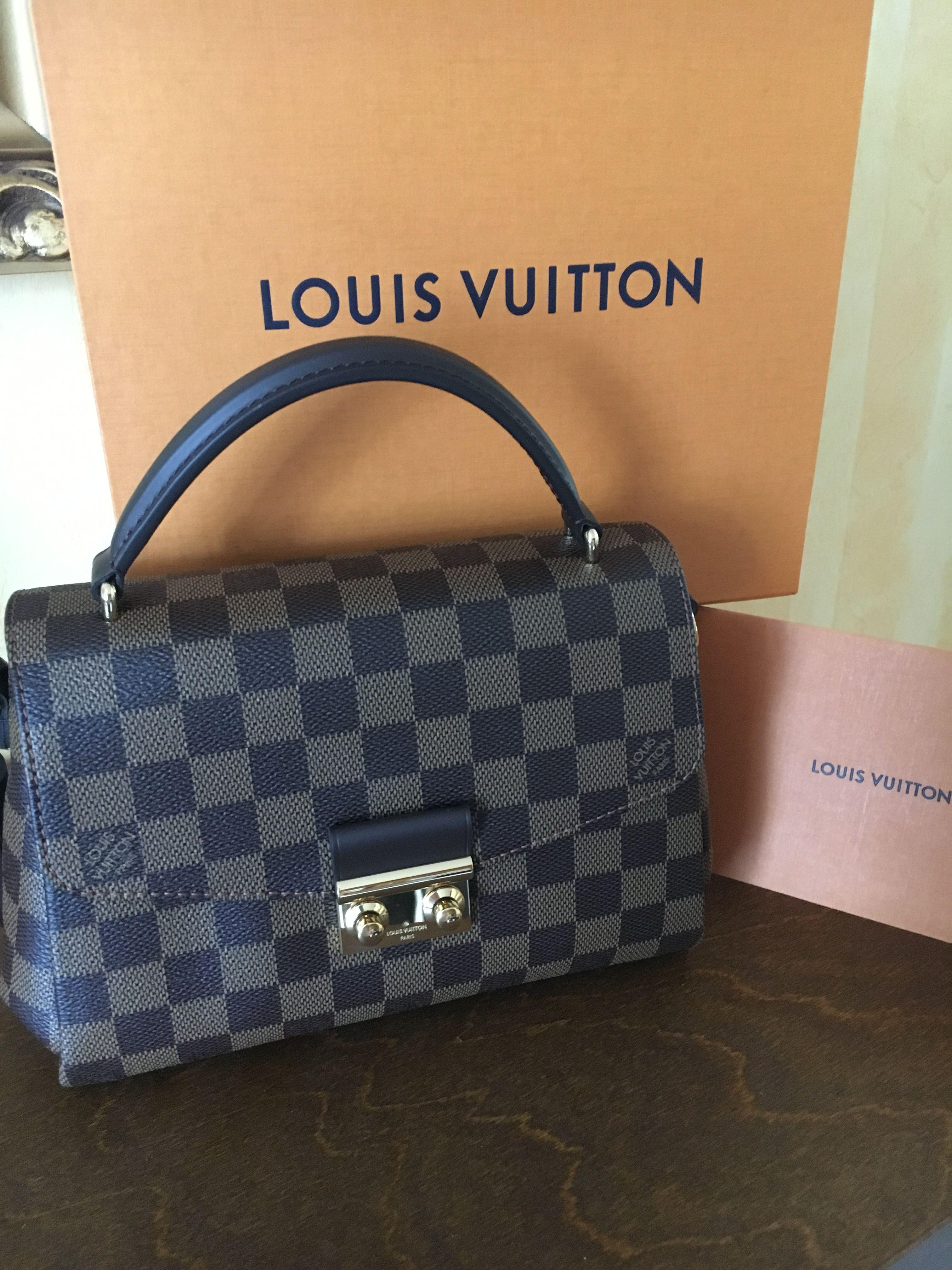 Louis Vuitton Croisette Bag Estilo Coreano 733ea4b8c41