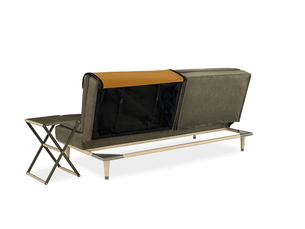 A Convertible Sofa That Hides A Table Beautiful