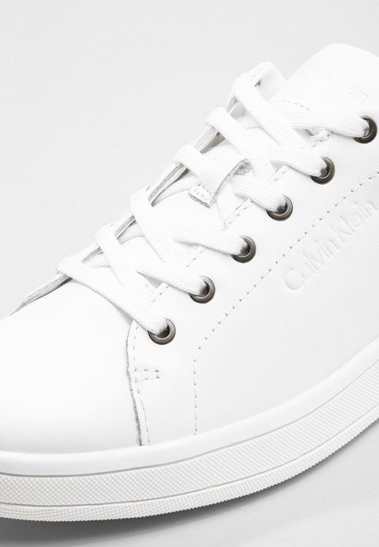 Calvin Klein Solange Sneakers White Gold Zalando Dk Sneakers White Sneakers Calvin Klein