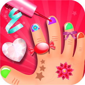 New Release Kids Nail Art A New Kids Game With Nail Paint