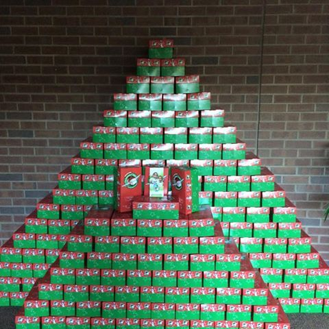 Christmas Shoebox Ministry.Operation Christmas Child Display Google Search