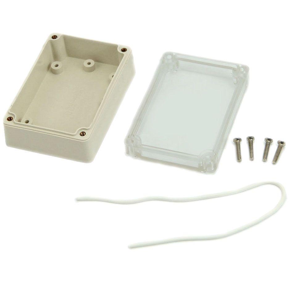 Wasserdichte elektronische Projekt Box Gehäuse Kunststoff Abdeckung Fall