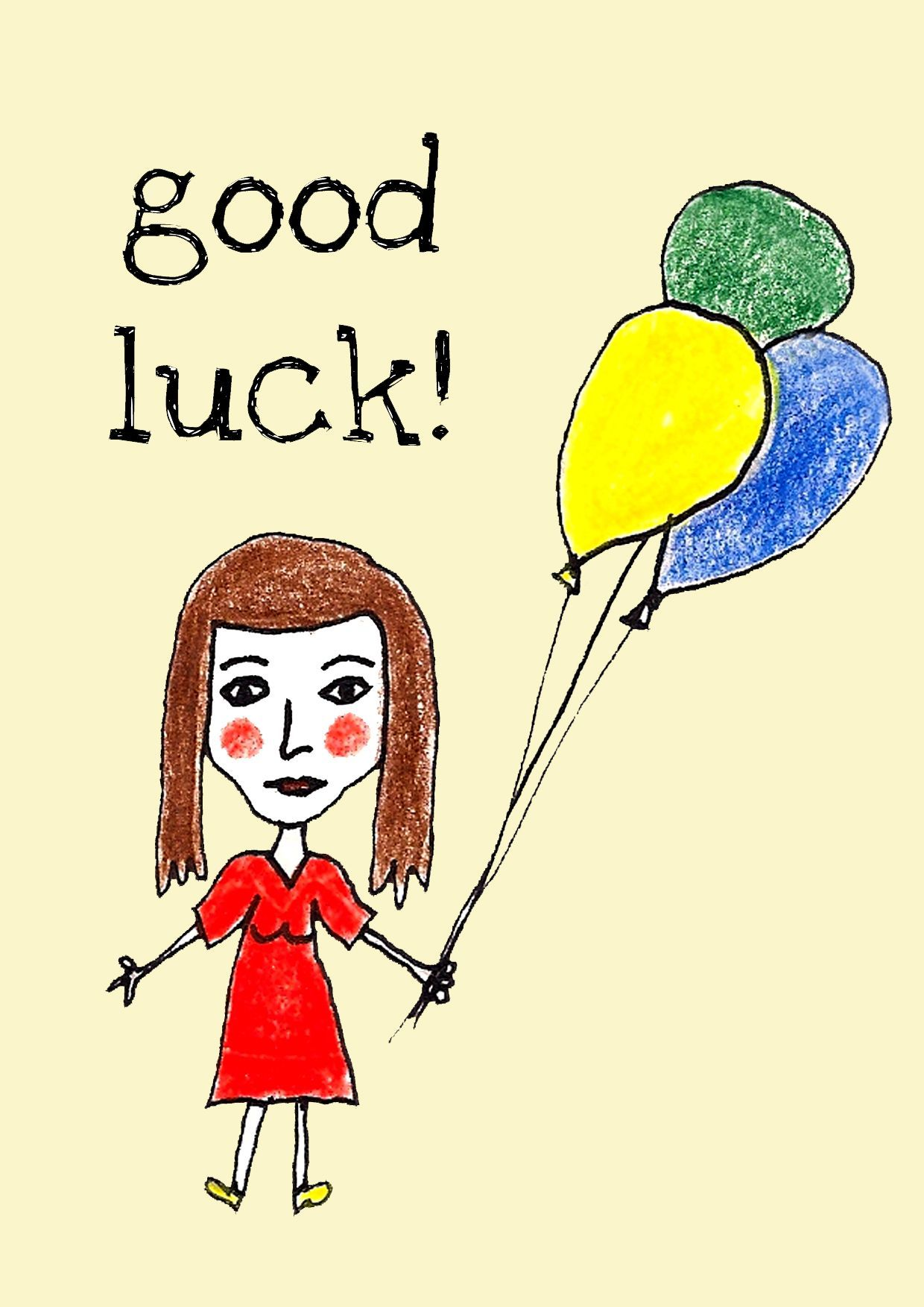 Pin by judy booth on buona fortuna good luck girl good