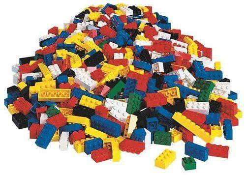 LEGO 9251 Basic Bricks Big Bulk Set - 576 Pieces Rare Discontinued ...