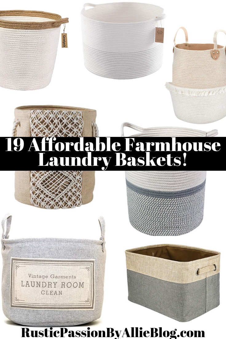 19 Stylish Laundry Hampers With Lids Other Farmhouse Laundry Baskets In 2020 Laundry Room Diy Laundry Basket Diy Laundry