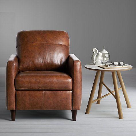 99e29c24c22 Buy John Lewis Dalston Semi-Aniline Leather Armchair