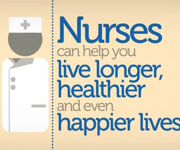 #Nurses can help you live longer, healthier and even happier lives.