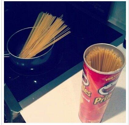 Embalagem de Pringles