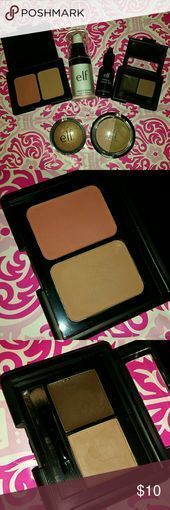 Photo of Elf Makeup BUNDLE Includes (pics are in order of list): Contouring Blush/Bronzer…