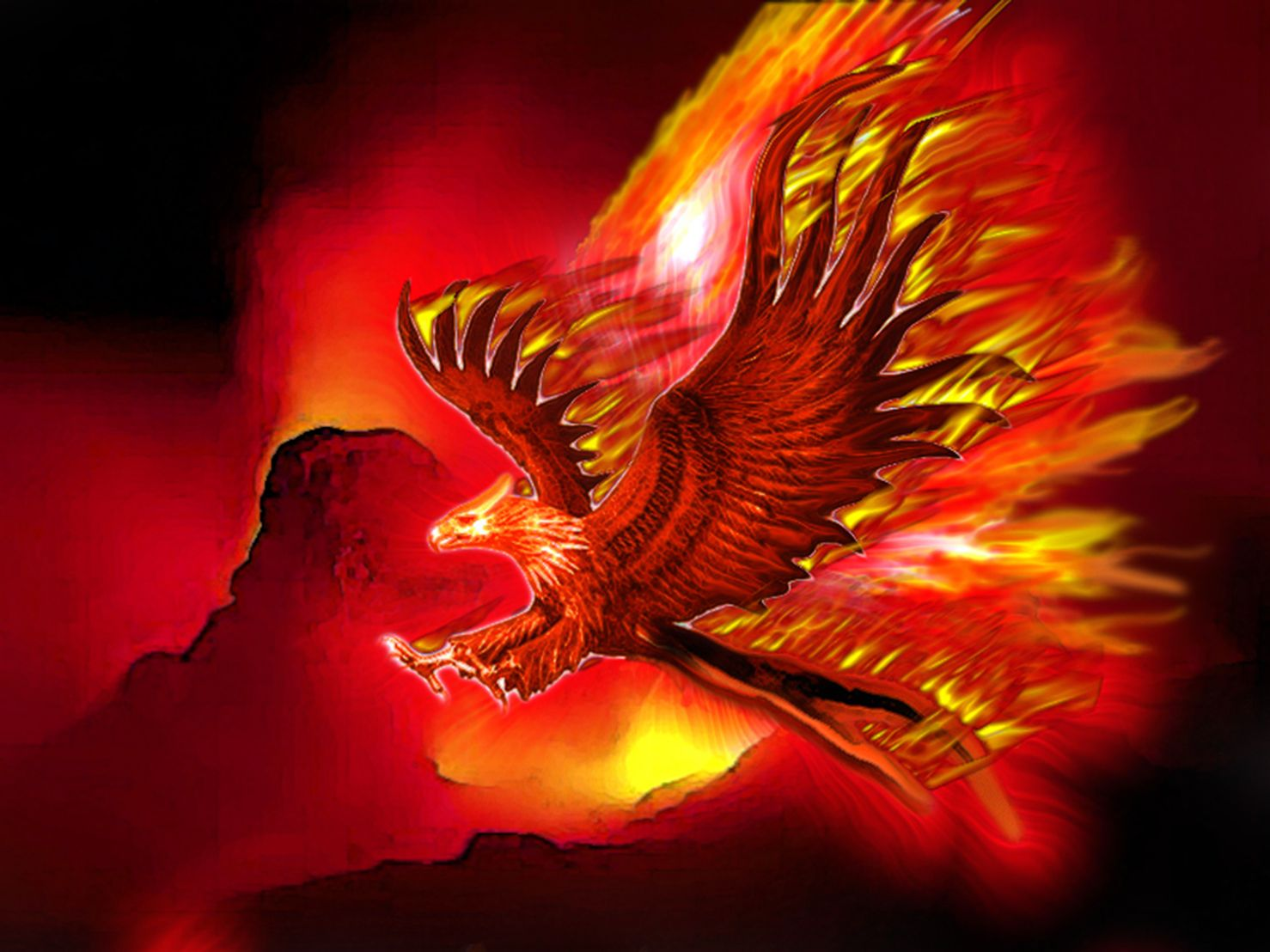 Images Of Fire Phoenix - Google Search