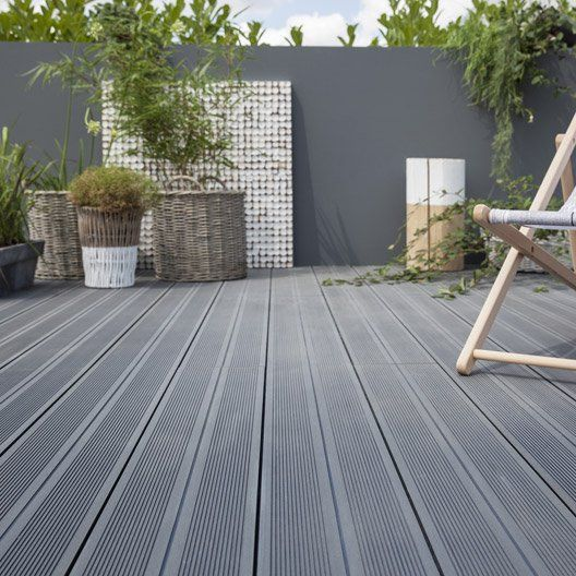 High Fire Resistance Outdoor Wpc Decking Available In