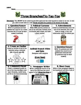 Three branch tic tac toe project tic tac toe students and third three branch tic tac toe project pronofoot35fo Image collections