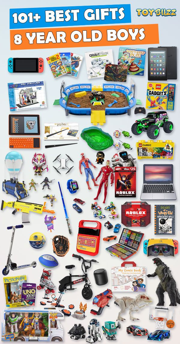 Gifts For 8 Year Old Boys 2020 - List of Best Toys | 8 ...