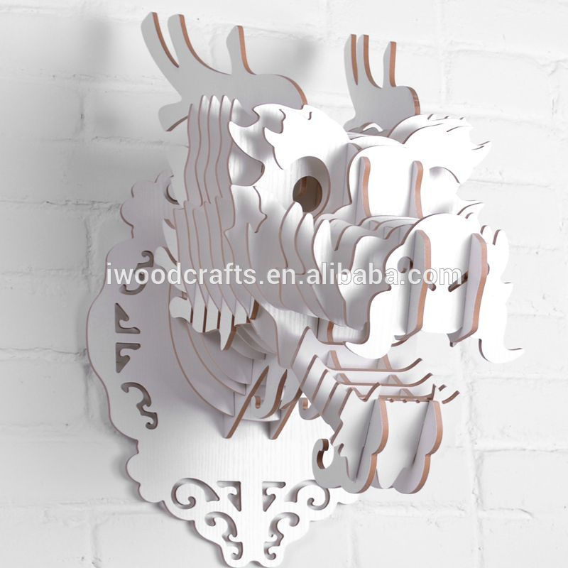 Nature style Wooden Dragon decoration pieces making | iwood| Animal ...