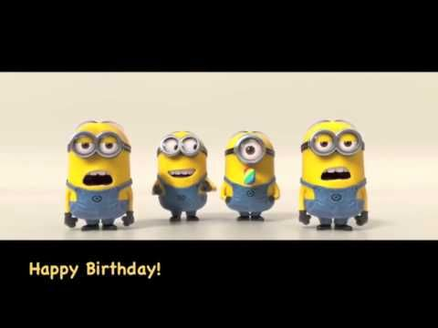 Happy Birthday Song Minions Song Children Songs Nursery Rhymes