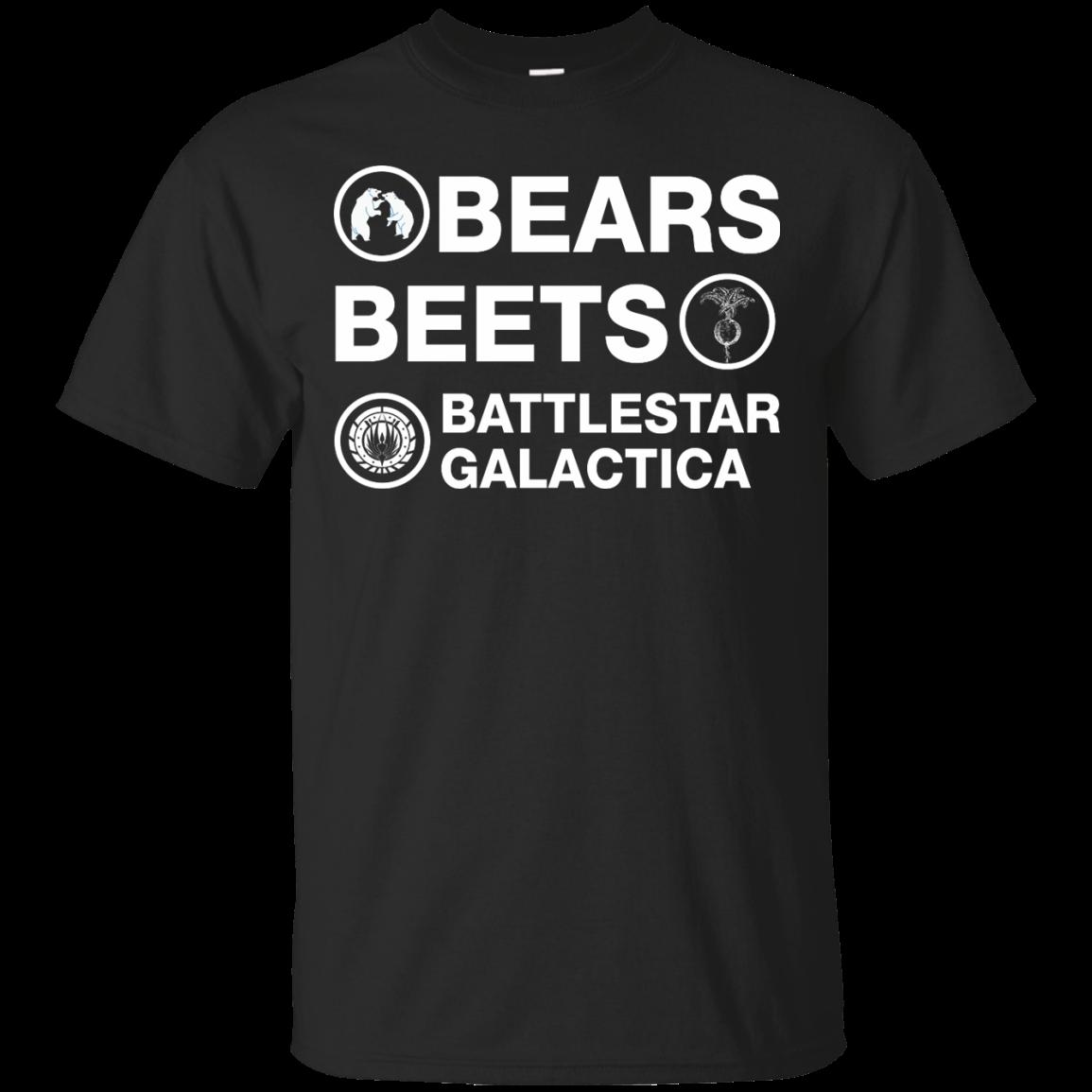 Bears Beets Battlestar Galactica Shirt Sweater Tank Merchandise