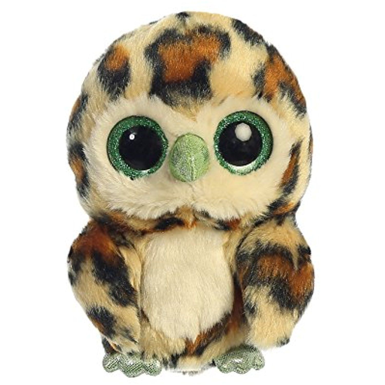 Aurora World YooHoo and Friends Yellow Howie Owl Plush, 5