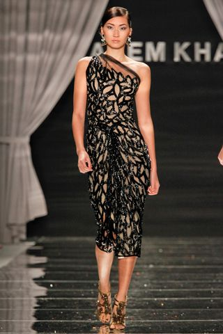 Toya's Tales: What Will Catch My Eye?: Toya's Tales Spring 2012 Ready to Wear: Highlights from the Naeem Khan Show
