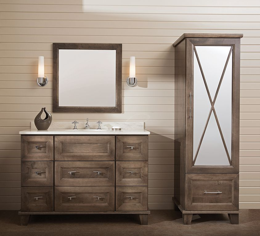 Bathroom cabinetry - Things you should know to make an ... on Bathroom Ideas With Maple Cabinets  id=76512