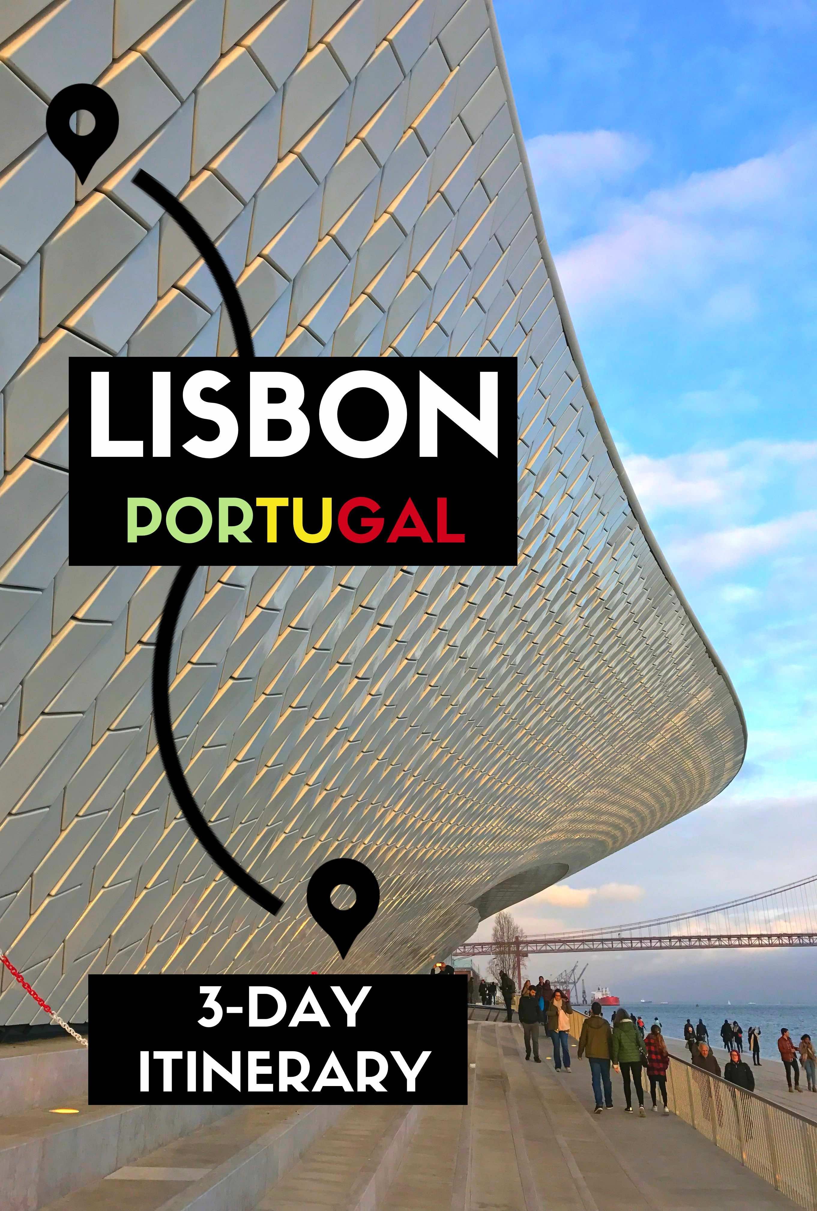 Camino útlevél Local Tips For A 3 Day Lisbon Itinerary Find Out What S Worth To
