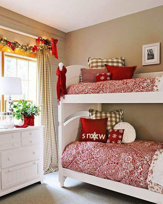 Decoraci n navide a para dormitorios infantiles for Decoracion navidena infantil