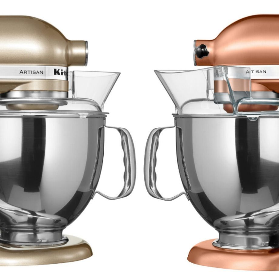 Which Mixer Colour Gets Your Vote? Satin Copper Or Golden Nectar? Much Love  KitchenAid