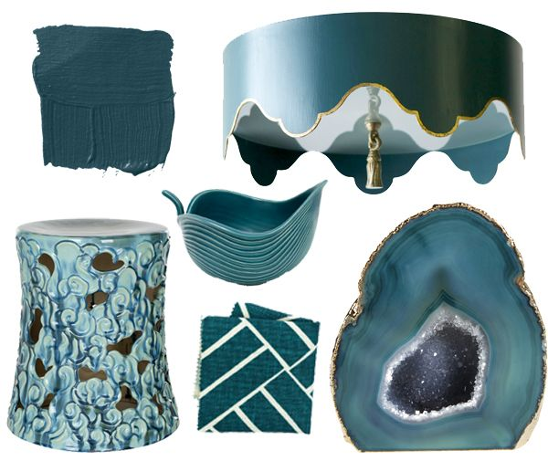 Color Of The Week Dark Teal Teal Decor Teal Accessories Home Accessories