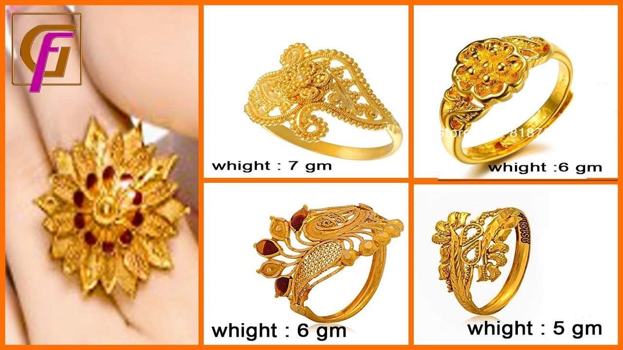 Latest Gold Ring Designs 2018 Gold Jewellery Gesigns With Price And Latest Gold Ring Designs Gold Ring Designs Gold Rings