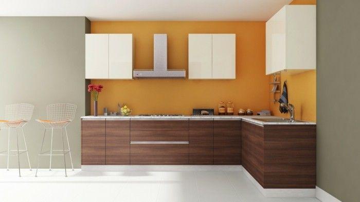 Küche L-Form Modern Und Minimalistisch | Küche Möbel - Küchen
