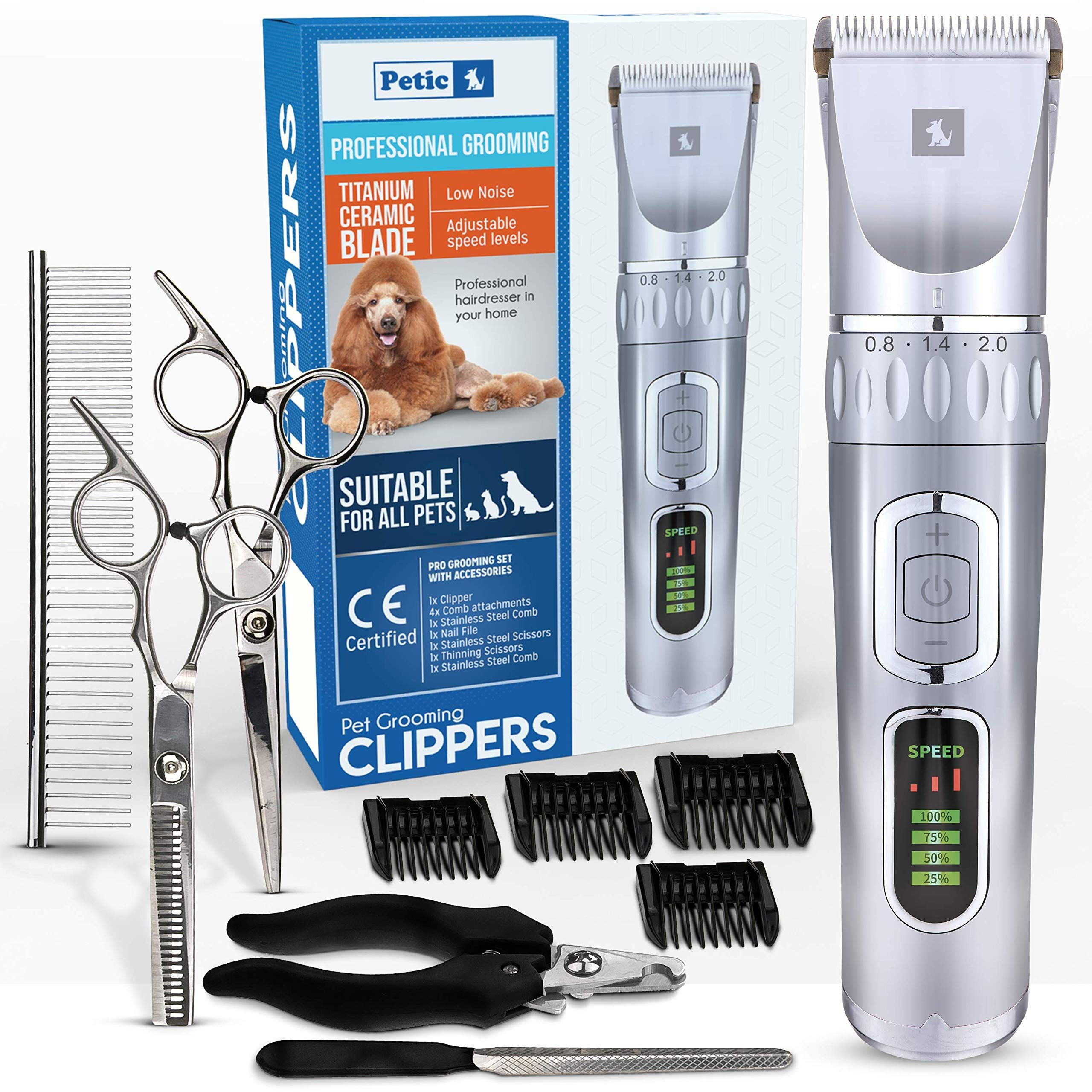 Dog Clippers Cat Shaver Professional Hair Grooming Electric Clipper Detachable In 2020 Long Haired Dogs Dog Clippers Dog Haircuts
