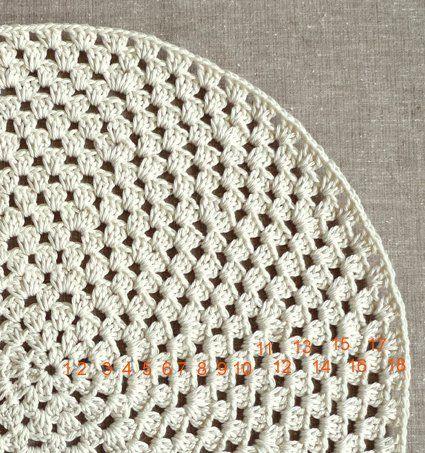 Granny Circle Placemats | Purl Soho