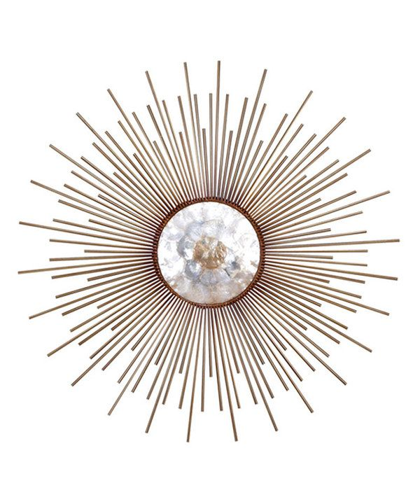 Look at this Capiz Wall Decor on #zulily today!
