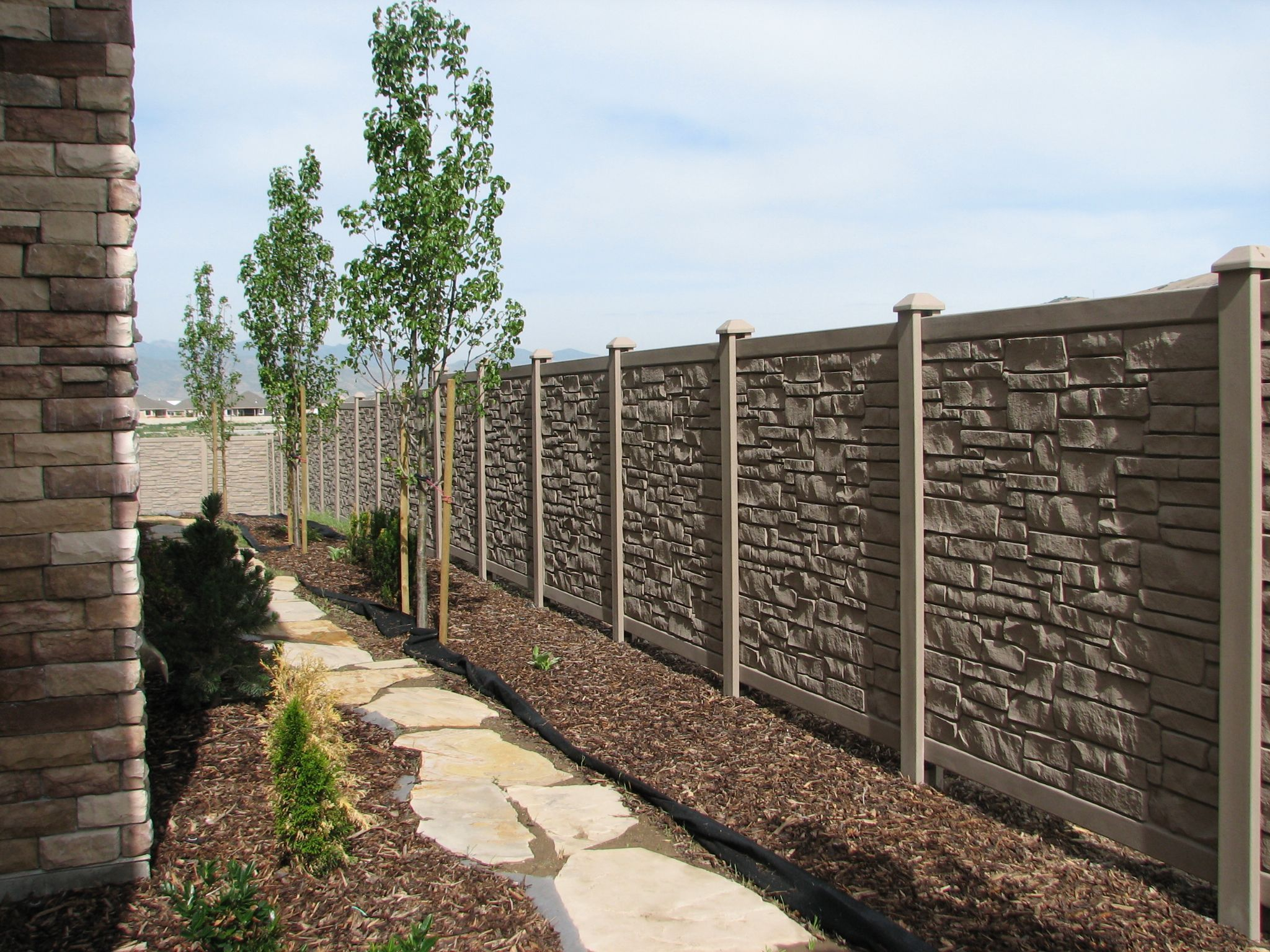 Give your garden realistic stone look by installing Ecostone ...