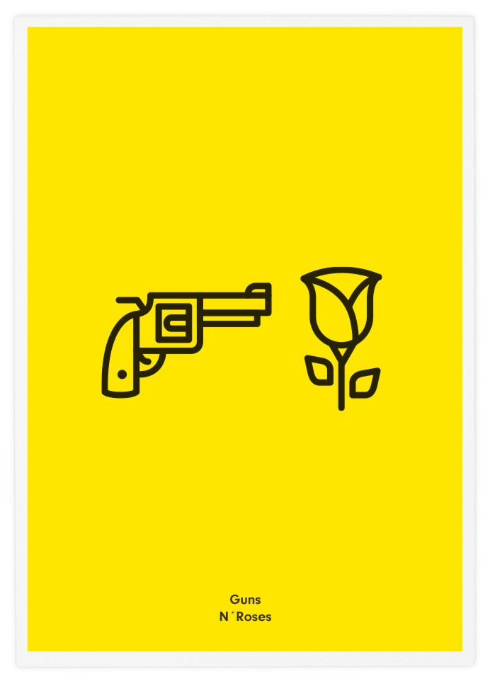 Rock Band Icons by Tata&Friends