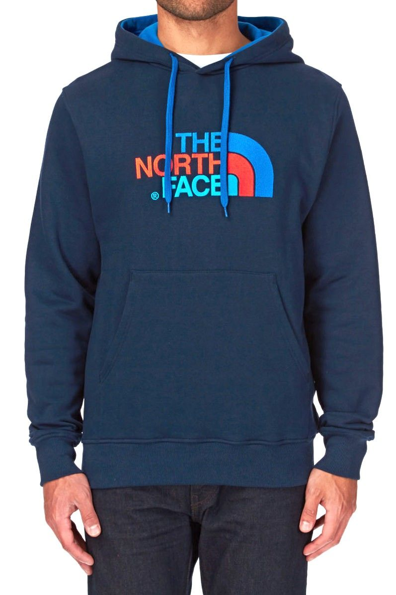 Felpa The North Face Drew Peak Hoodie Cosmic Blue  551bb839c985