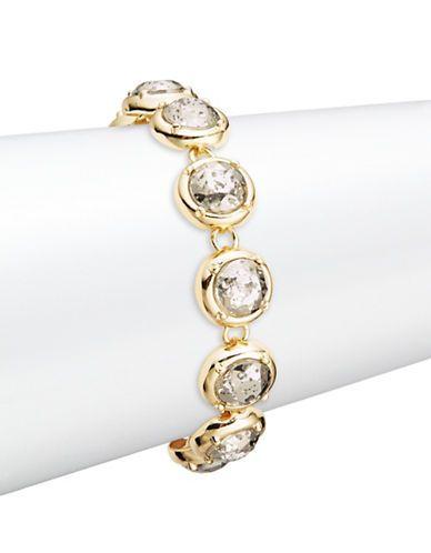 A.B.S. By Allen Schwartz Stone Flex Toggle Bracelet Women's Multi