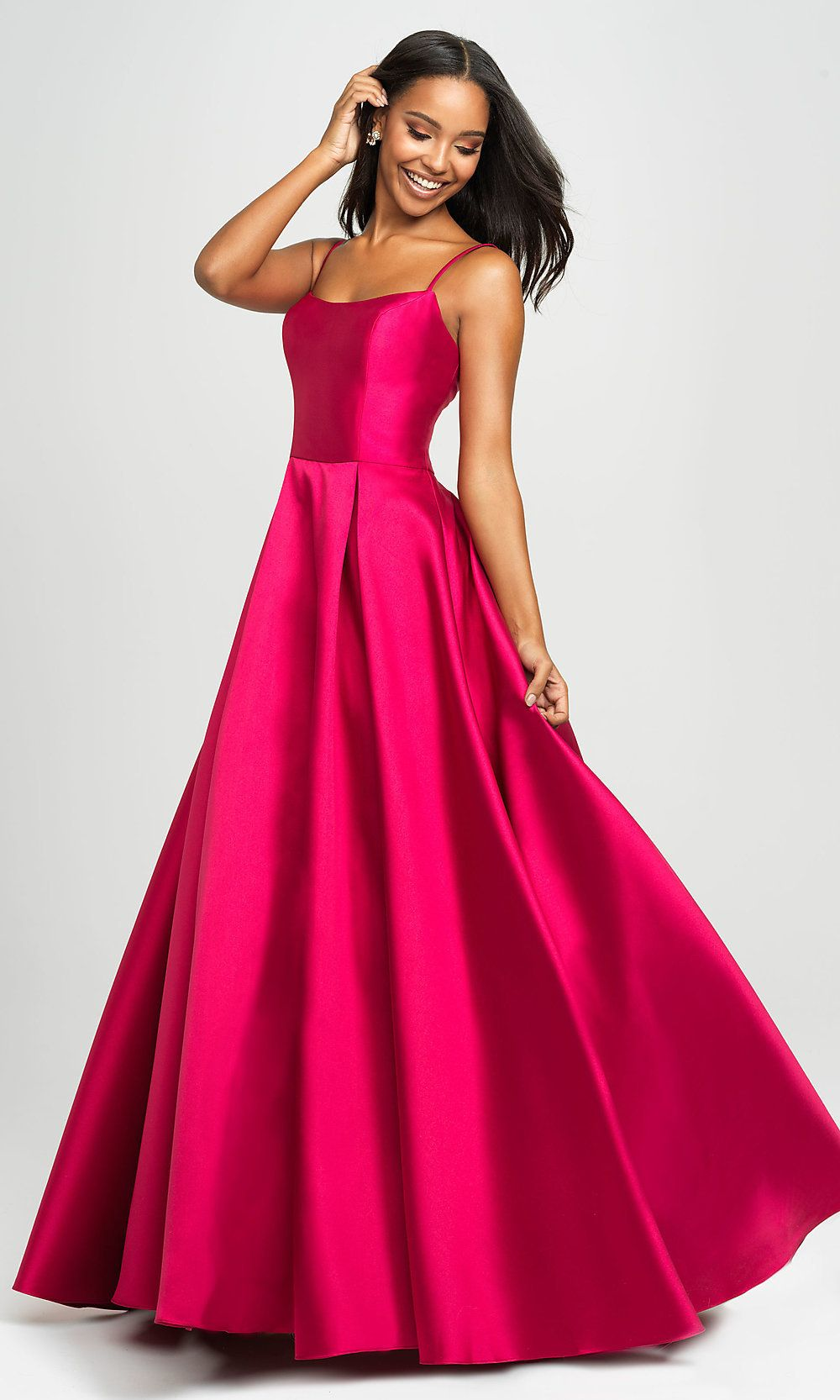 89412a9f8f7b Long Prom Ball Gown with Pockets in 2019 | Prom | Prom dresses ...
