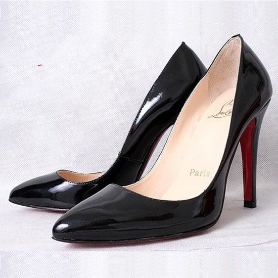 christian louboutin Chiara 100mm Pumps Black