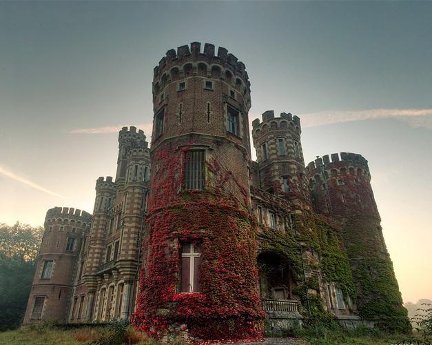 Medieval Castle, Belgium