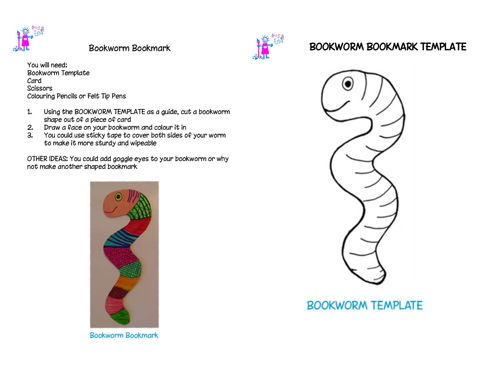 Bookworm Template