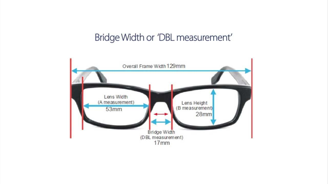 How To Choose The Right Frame Size Frame Size Eye Exercise Sunglass Frames