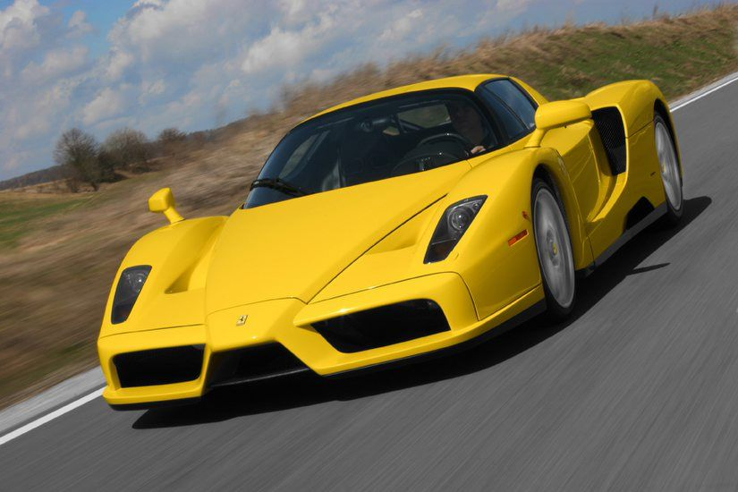 Enzo Ferrari Yellow Ferrari Enzo Wallpaper Car Car Pictures Car Pic Car Wallapers Ferrari Enzo Ferrari Pictures Of Sports Cars