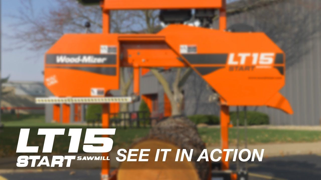 Wood-Mizer LT15START Sawmill - See It In Action - YouTube